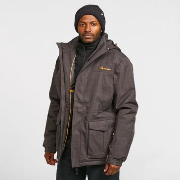 Grey The Edge Men's Blackcomb Parker Jacket