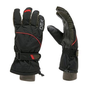 Black OEX Summit Waterproof Gloves