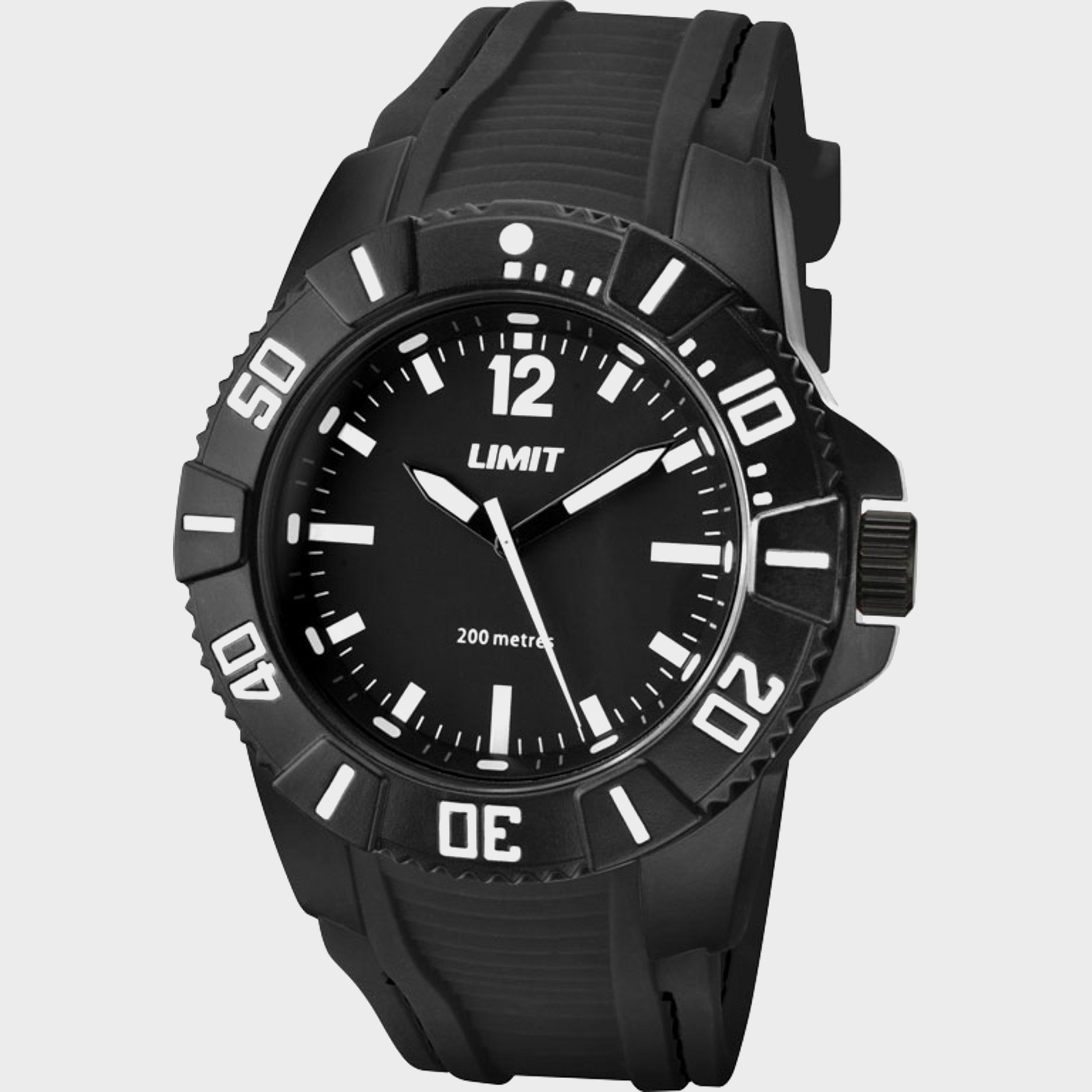 Limit Limit 200m Analogue Watch - Black, Black