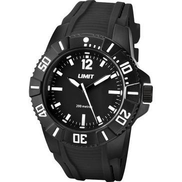 BLACK Limit 200m Analogue Watch