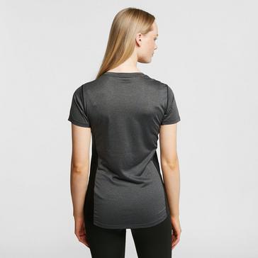 Dark Grey North Ridge Womens Resistance Short Sleeve Baselayer