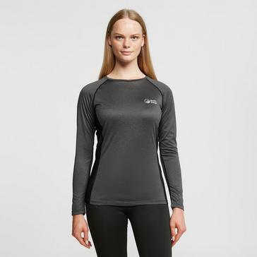 Grey North Ridge Womens Resistance Short Sleeve Baselayer