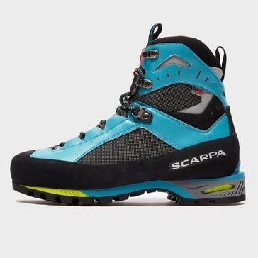 Blue Scarpa Women's Charmoz Mountain Boot