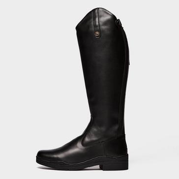 BLACK Brogini Modena Synthetic Women's Riding Boot