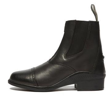 BLACK Brogini Tivoli Paddock Boots