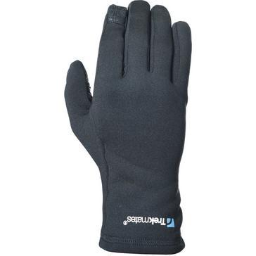 BLACK Trekmates Ogwyn Stretch Grip Gloves