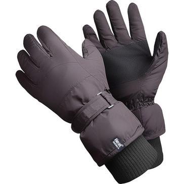 Black Heat Holders Men's Ski Gloves