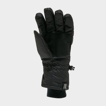 Black Heat Holders Ladies Ski Gloves