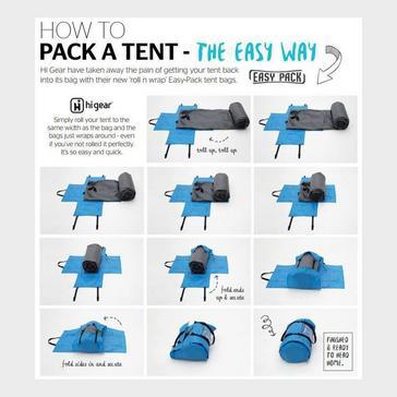 Multi HI-GEAR Easy Pack Tent Carrybag