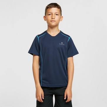 Blue HI-GEAR Kids' Balance SS Baselayer
