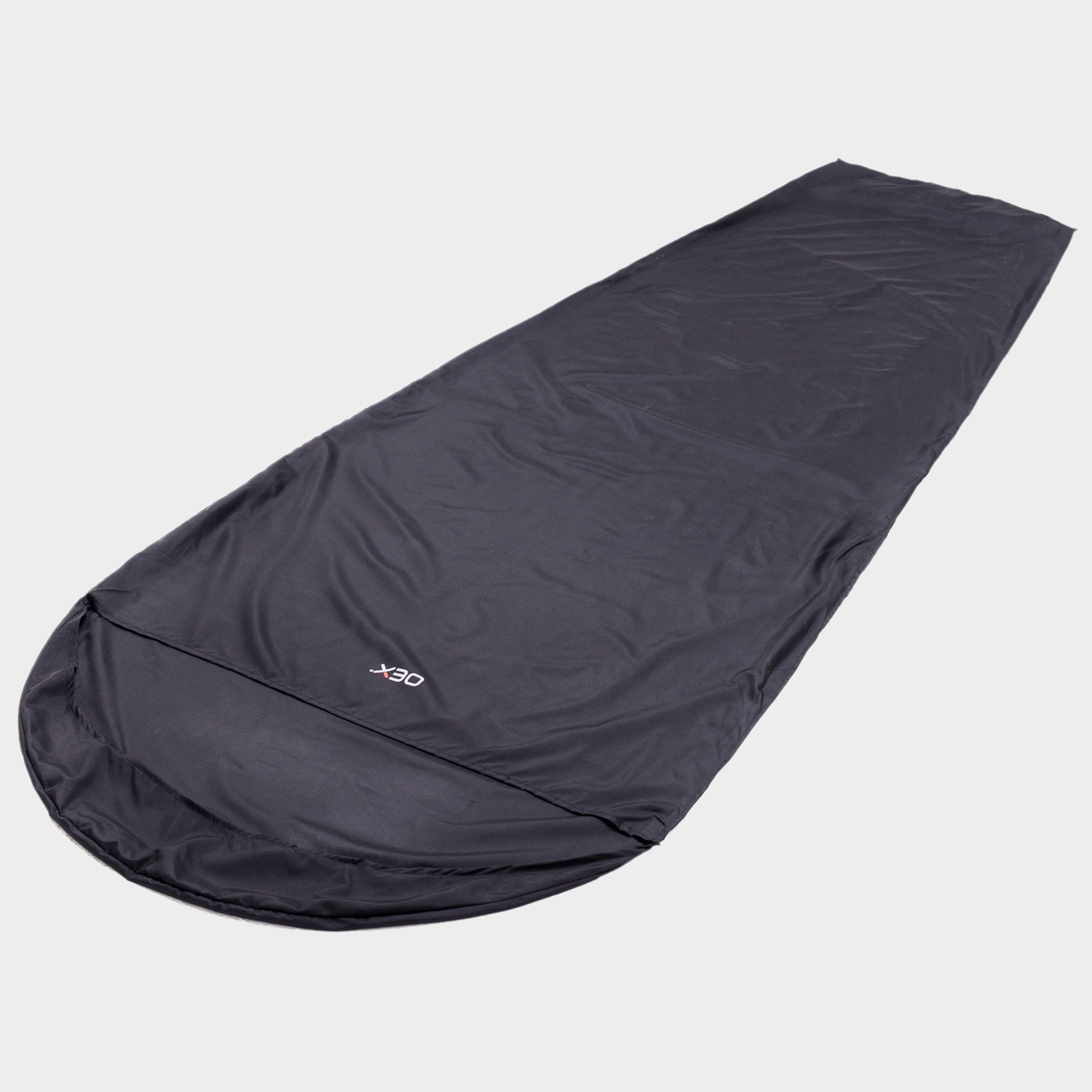 Oex Oex Sleeping Bag Liner - Black, Black