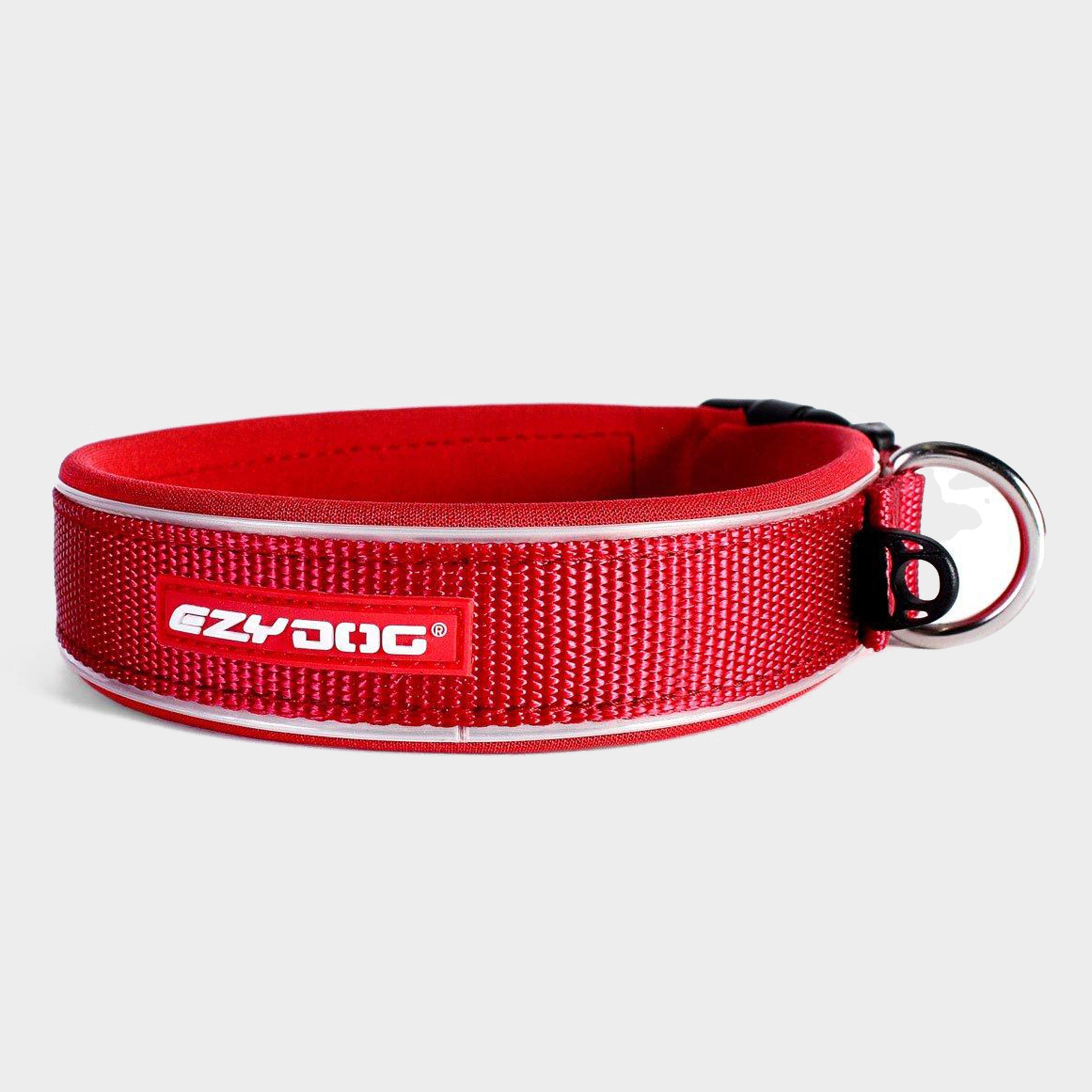 Image of Ezy-Dog Neo Classic Collar (Medium) - Red/M, Red/M