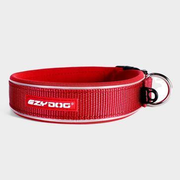 Red Ezy-Dog Neo Classic Collar (Medium)