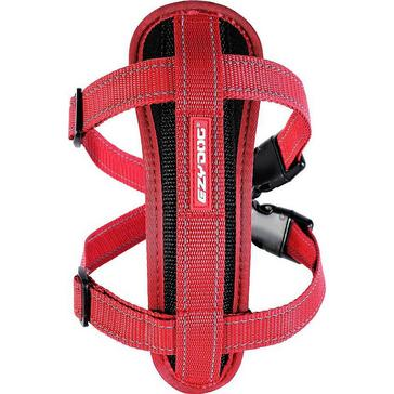 Red Ezy-Dog Chest Plate Harness Medium
