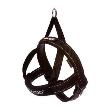 Black Ezy-Dog Quick Fit Harness (XS)