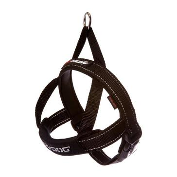 Black Ezy-Dog Quick Fit Harness (S)