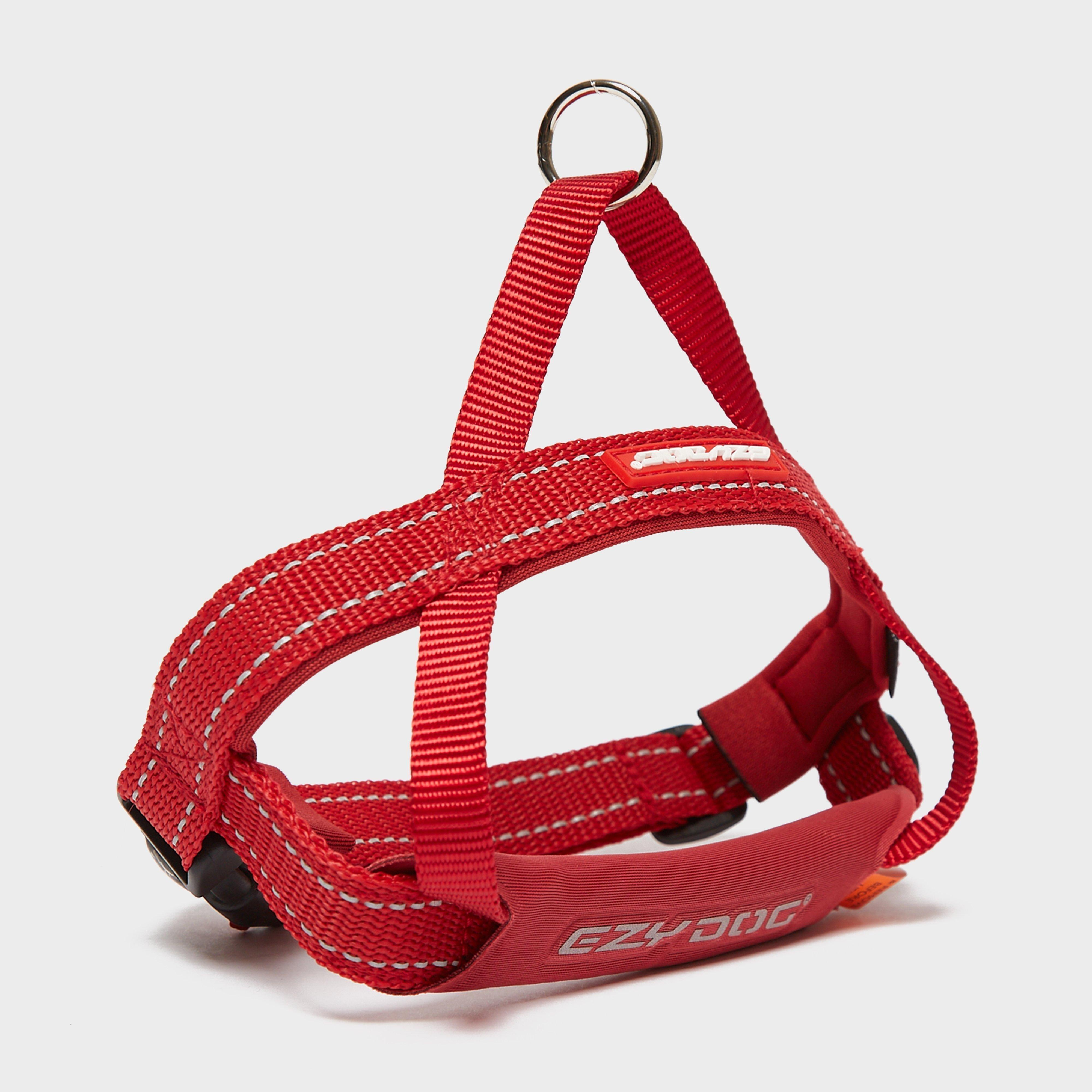 Image of Ezy-Dog Ezydog Quick Fit - Red/Harness, Red/HARNESS