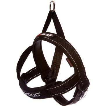 BLACK Ezy-Dog Quick Fit Harness (XL)