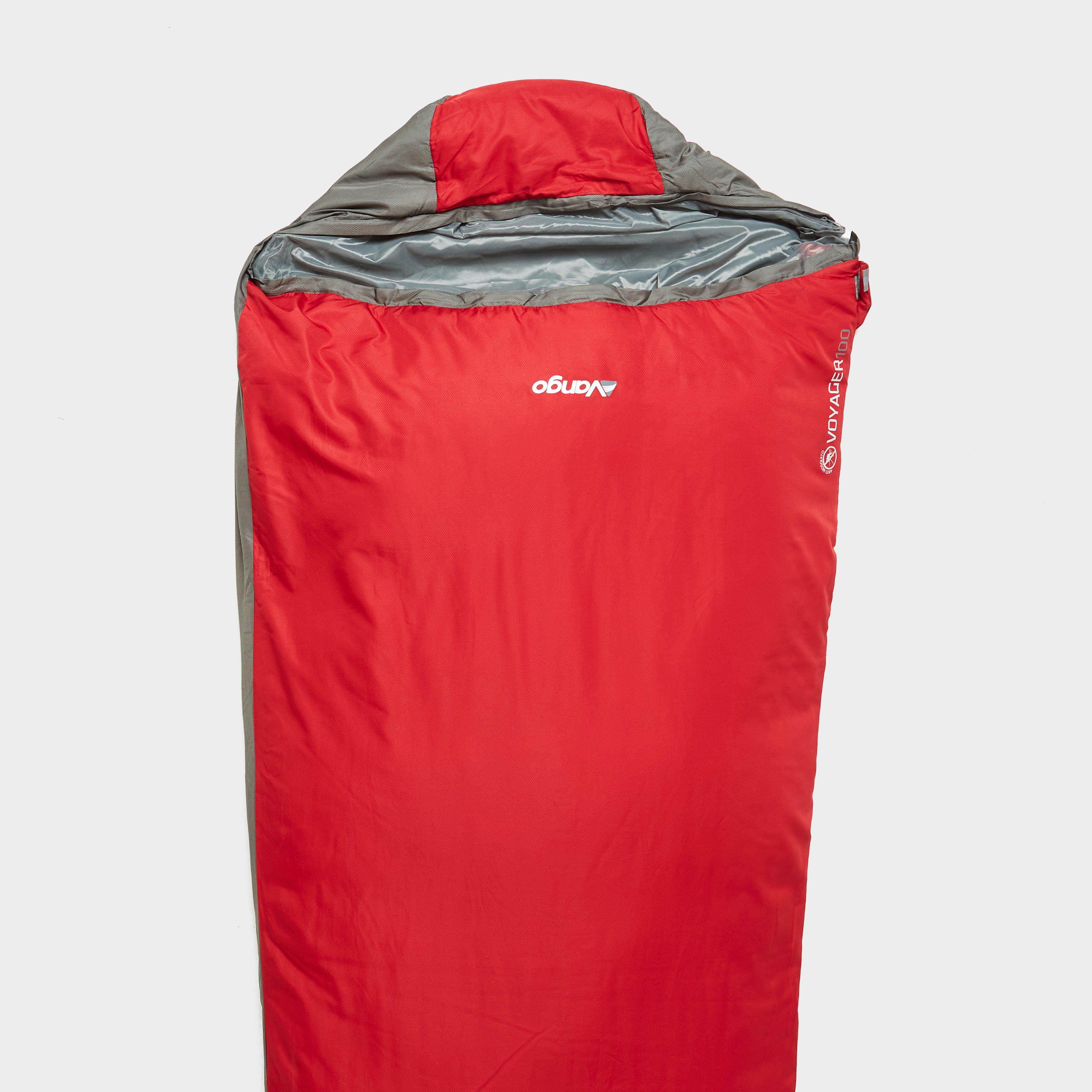 Vango Vango Voyager 100 Sleeping Bag - Red, Red