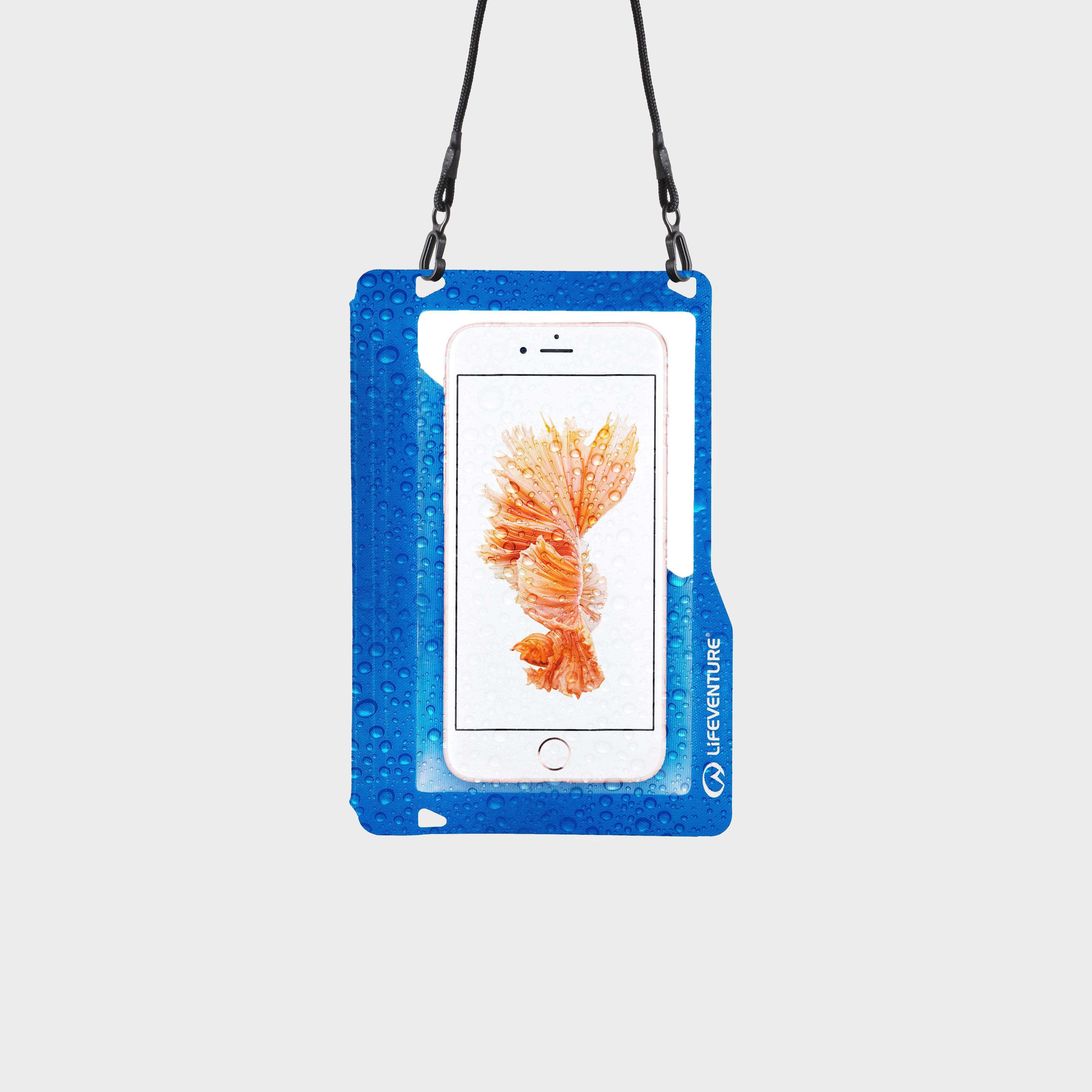 Lifeventure Lifeventure Hydroseal Phone Case Plus - Blue, Blue
