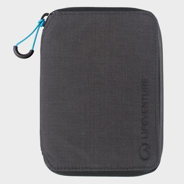 Grey LIFEVENTURE RFiD Travel Wallet - Mini