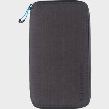 Grey LIFEVENTURE RFiD Travel Wallet