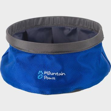 Navy Mountain Paws Water Bowl (Small)