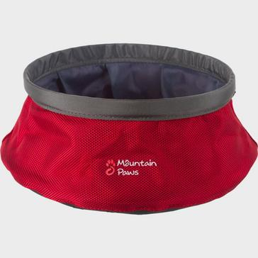 RED Mountain Paws Water Bowl (Small)