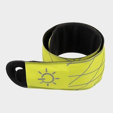 yellow Niteize SlapLit LED Slap Wrap