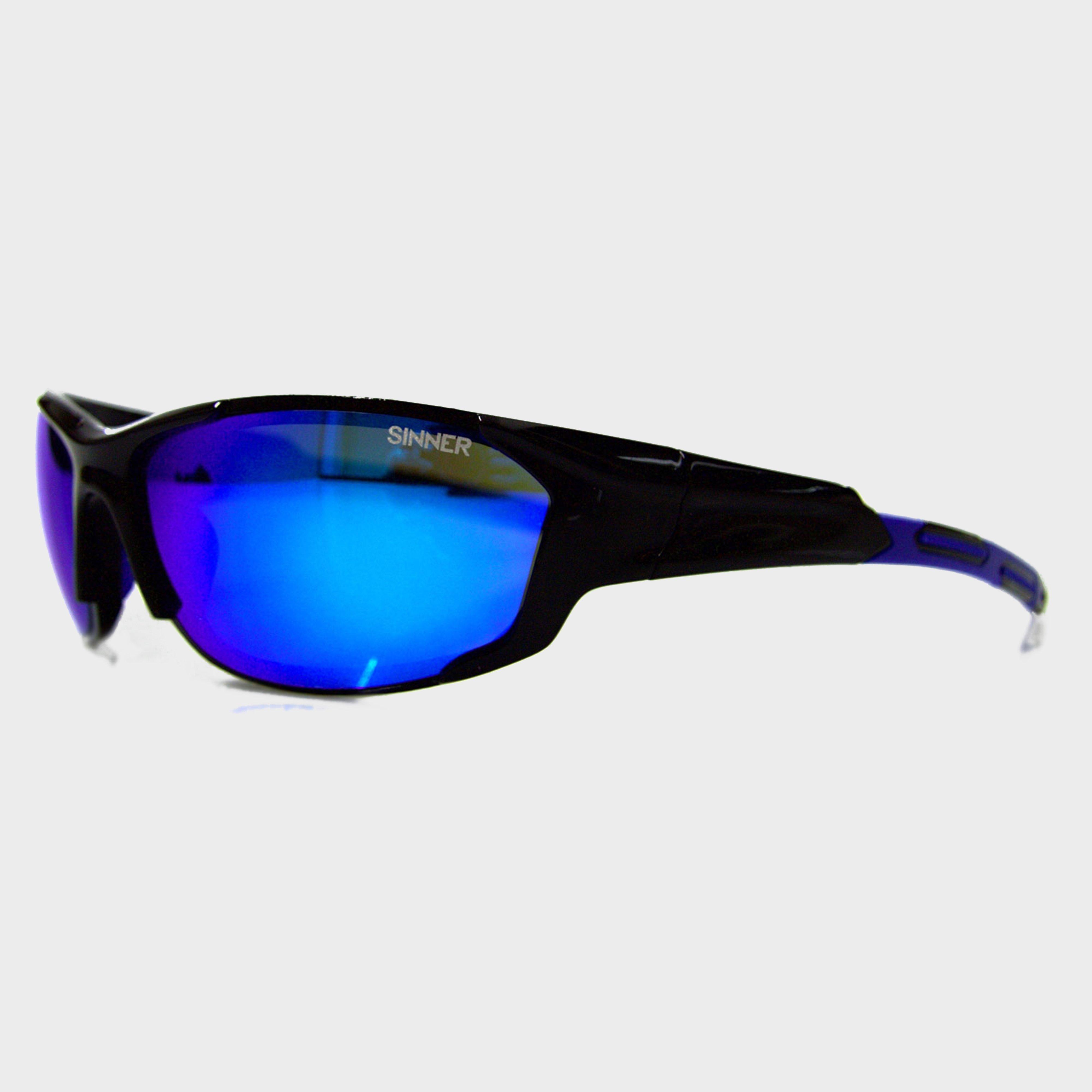 Sinner Sinner Baker Sunglasses, Black