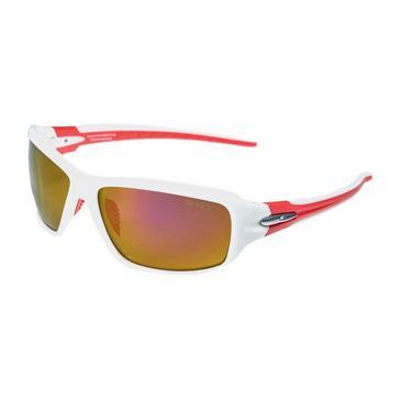 WHITE RED Sinner Ros Sintec Sport Sunglasses