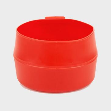 RED Wildo Fold-A-Cup