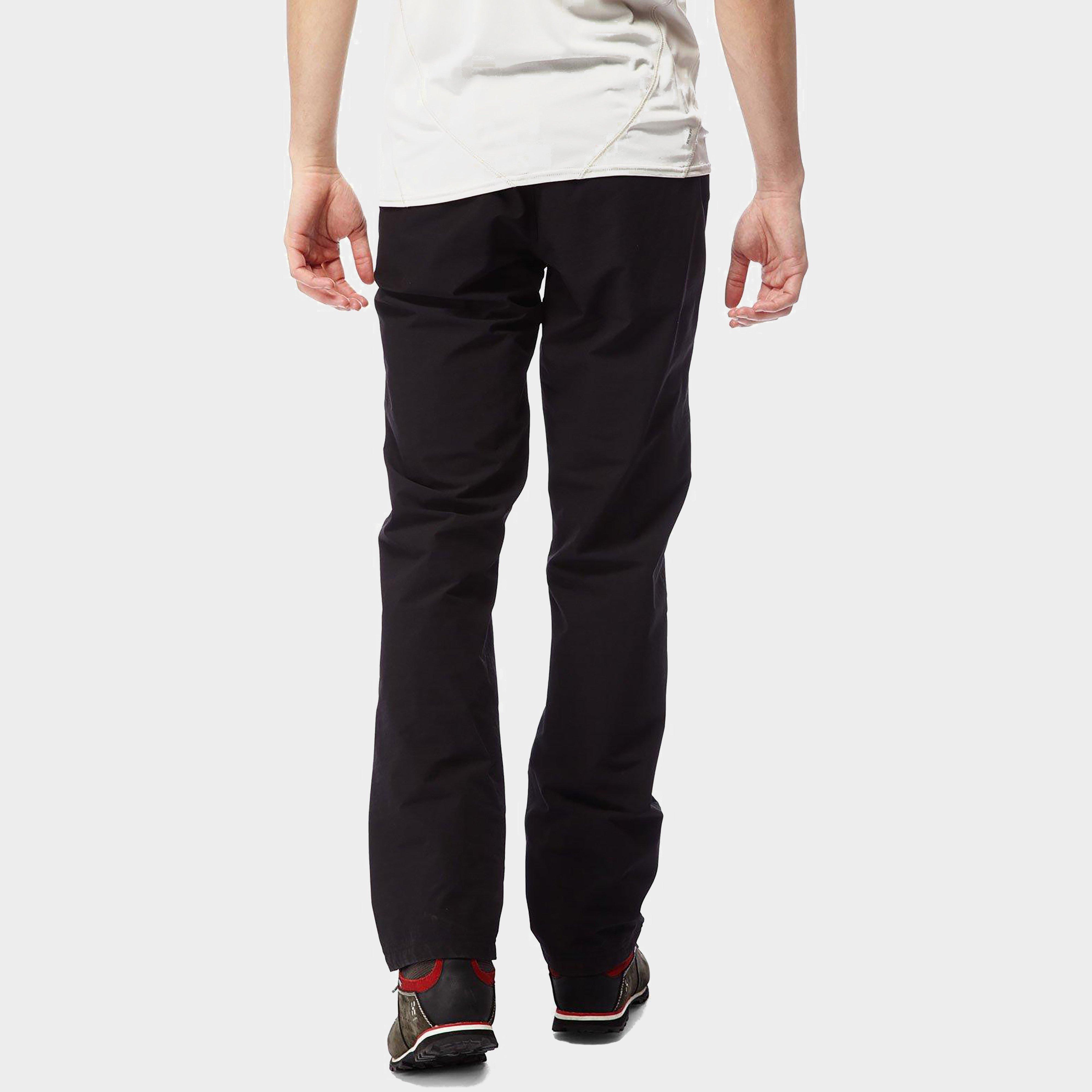 Craghoppers Craghoppers Mens Kiwi Pro Waterproof Walking Trousers - Black, Black