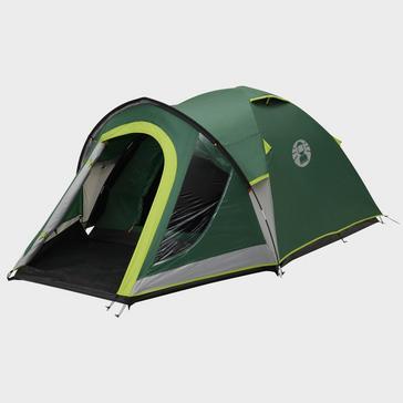 Green COLEMAN Kentmere 3 Plus 3 Person Tent