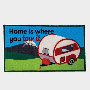 Navy Quest 'Home Is Where You Park It' Mat