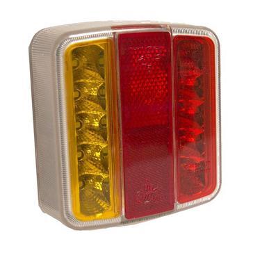 RED Maypole 12V LED Combination Lamp
