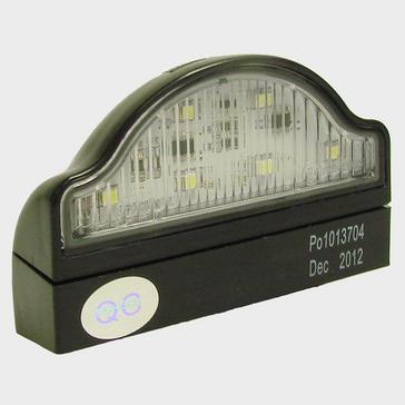 Black Maypole LED Numberplate Lamp with Base