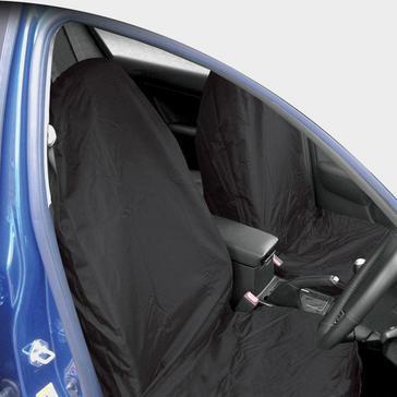 Black STREETWIZE Heavy Duty Front Seat Protectors