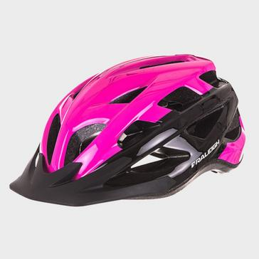 Pink RALEIGH Quest Cycling Helmet