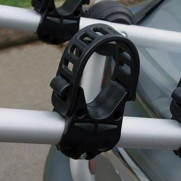 Silver Maypole High Rear Mounted 3 Bike Cycle Carrier