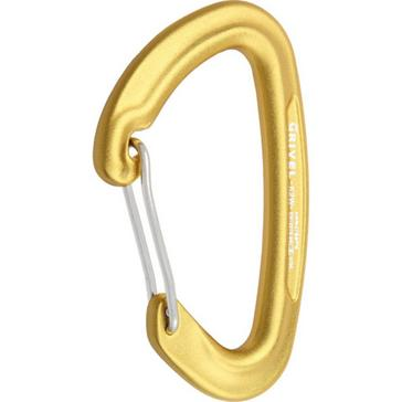 YELLOW Grivel K2 Gamma Wire Gate Carabiner
