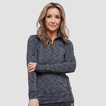 Grey North Ridge Women's Ainslie Half Zip Pullover
