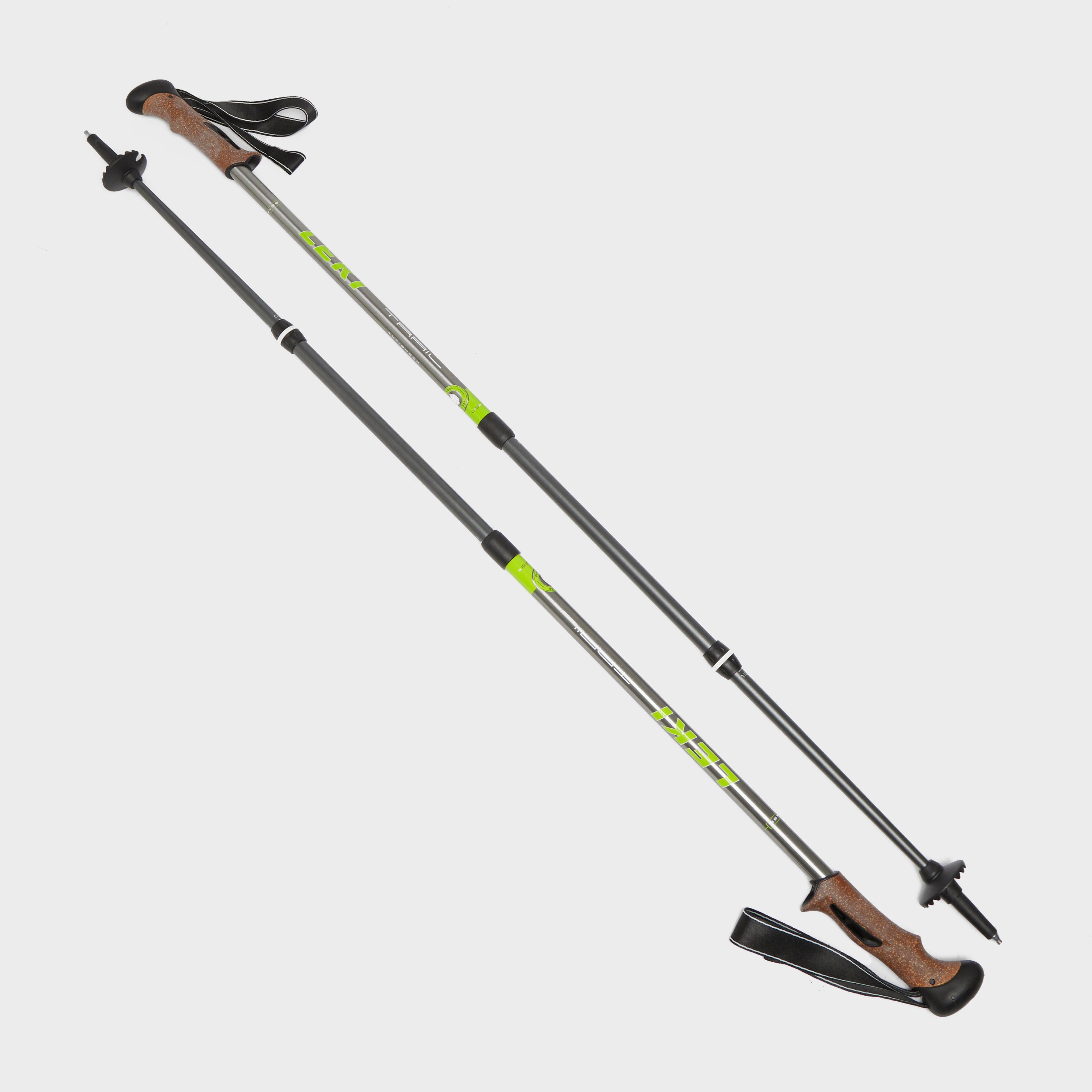 Leki Trail Antishock 2020 Walking Pole (Pair) - Grey/Black, Grey/Black