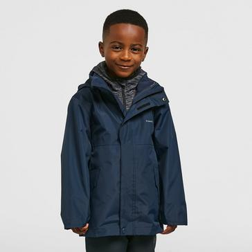 NAVY FREEDOMTRAIL Kids' Versatile 3-in-1 Jacket (13-16 years)