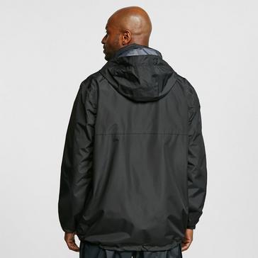 Black FREEDOMTRAIL Men's Versatile 3-in-1 Jacket