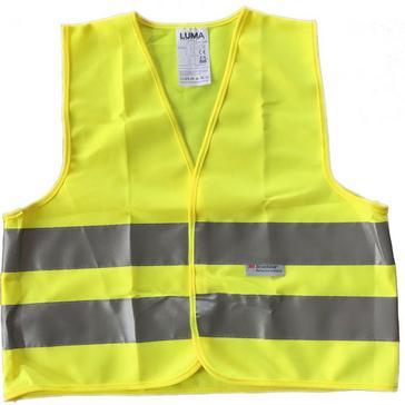Yellow Luma Adult Safety Vest