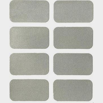 Grey Luma Rectangular Reflective Stickers (Pack of 6)