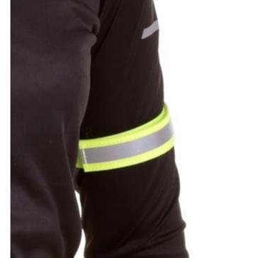 Yellow Luma Cloth Arm/Leg Reflective Bands