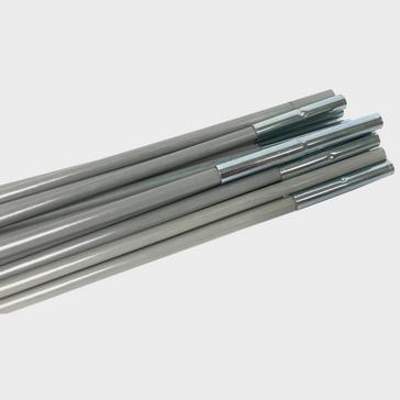 Silver OEX Puma 2 Spare Poles Set
