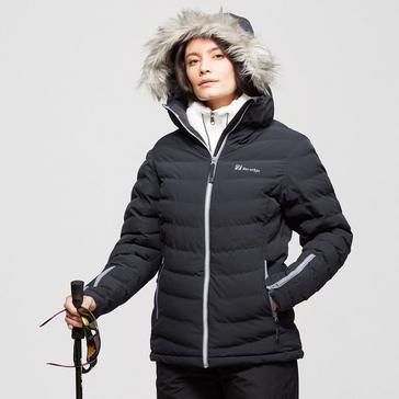Black The Edge Women's Serre Insulated Snow Jacket